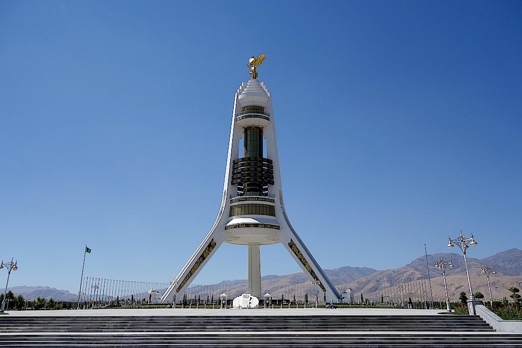 Turkmenistan-Aschgabat-Bogen-der Neutralitaet