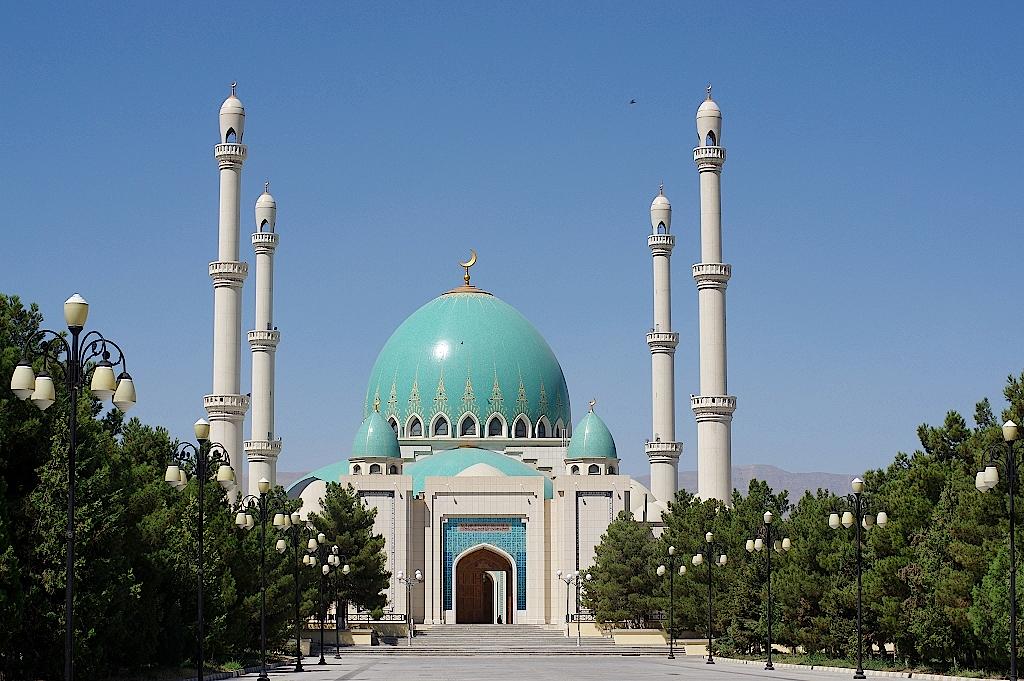 Zweitgrößte Moschee von Turkmenistan