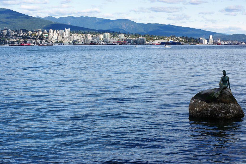 Vancouver-Schwimmerin