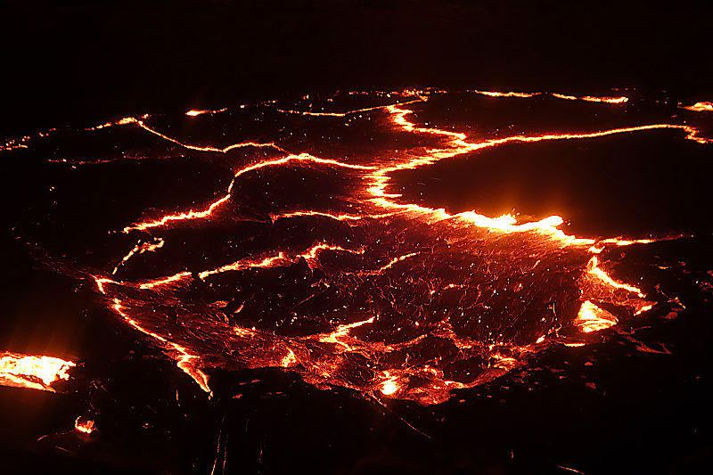 Vulkan-Erta-Ale -Aethiopien -