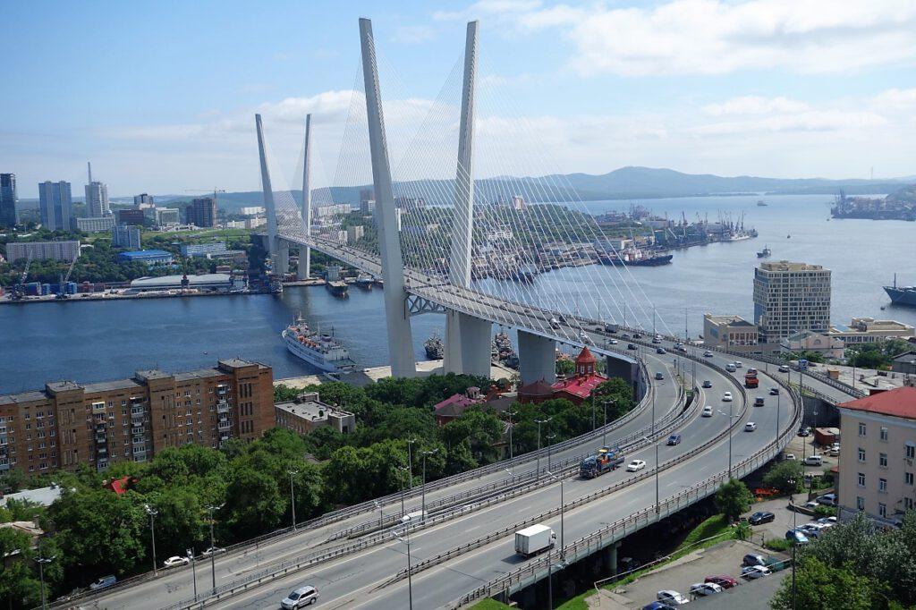 Russki-Brücke-Wladiwostok-Sibirien