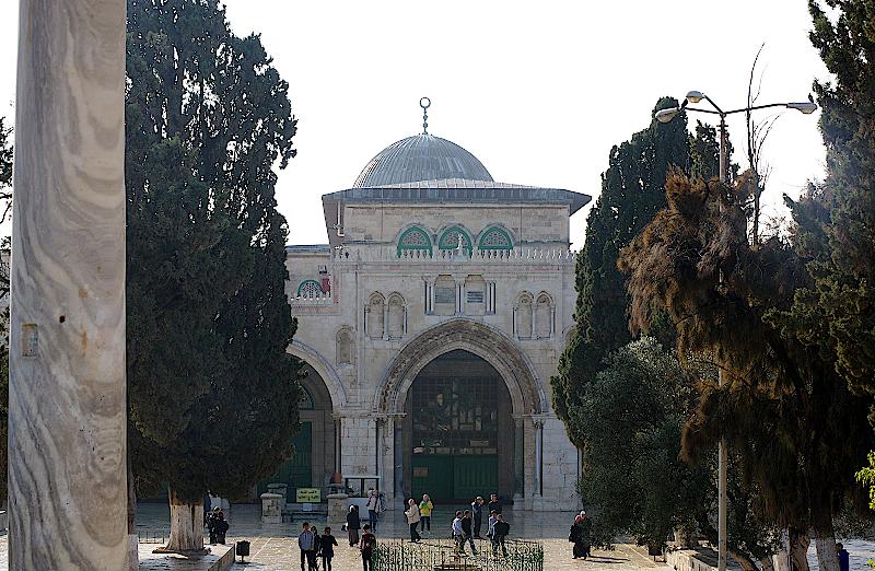 Al-Aqsa-Moschee-Jerusalem-Israel