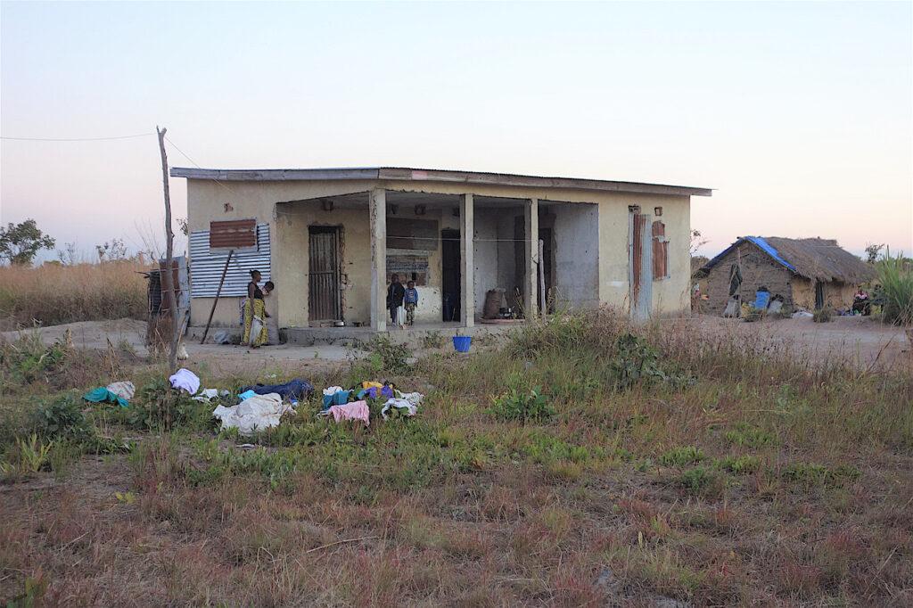 Geplantes  Gesundheitszentrum werden, das nun einer Familie Obdach biete