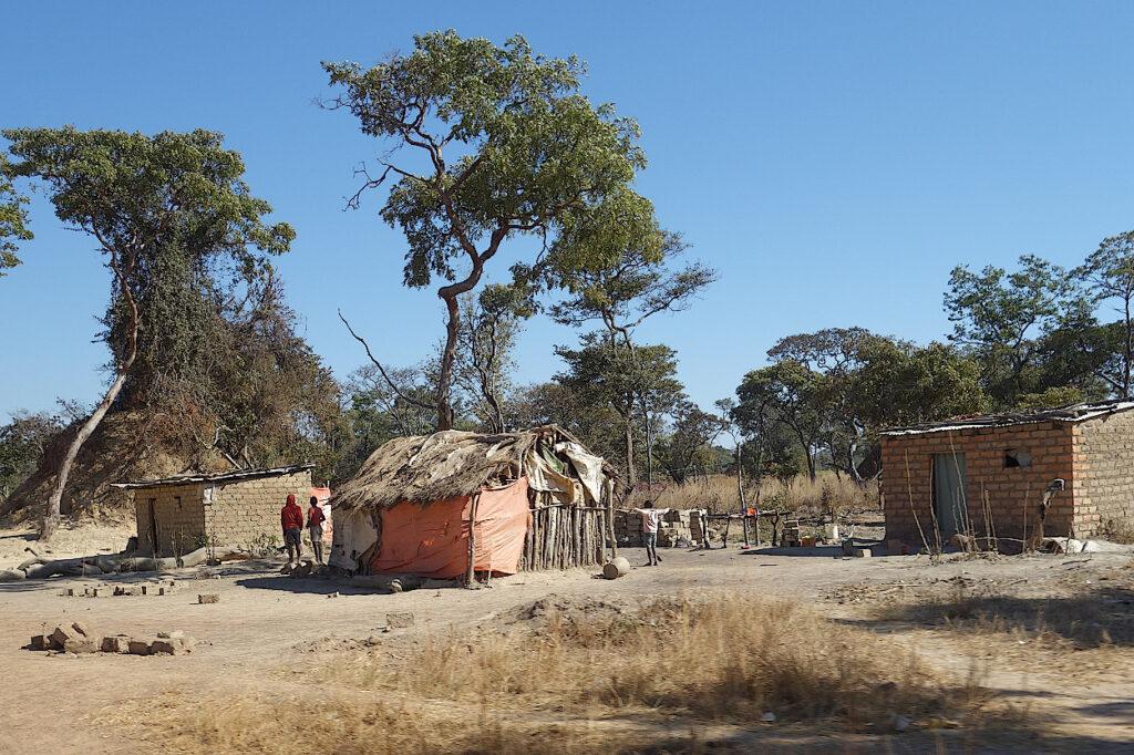 Dorf-in-Katanga