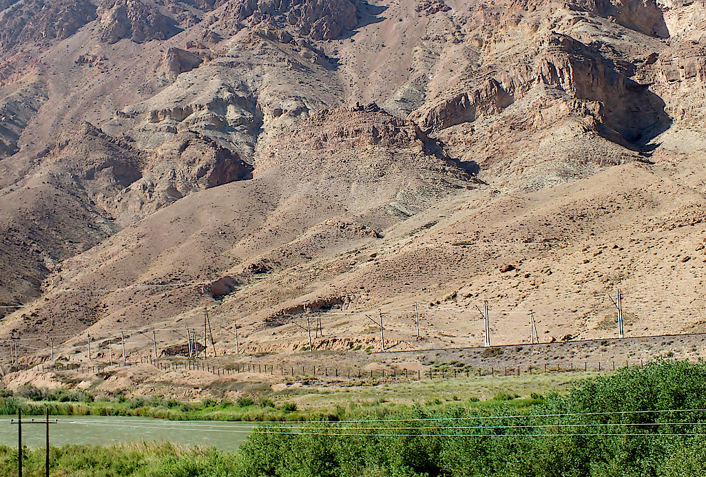 Grenzfluss-Aras