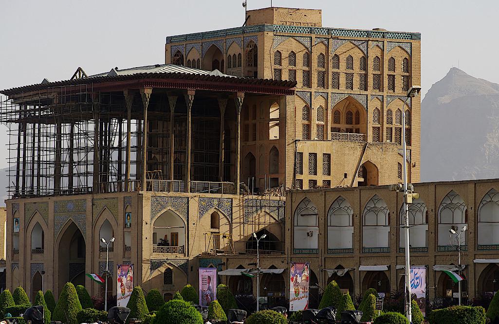 Isfahan-Ali-Qapu-Palast-Iran