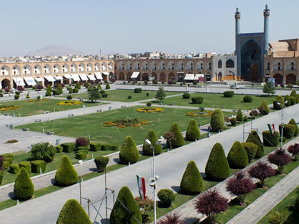 Isfahan-Imam-Platz