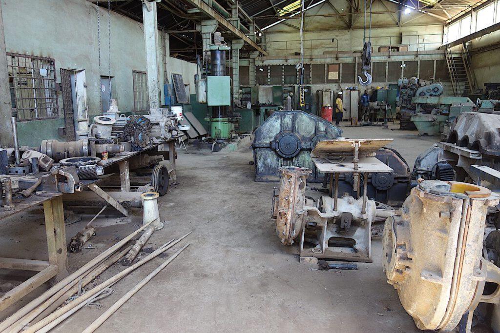 Kupfermine-Likasi-Katanga