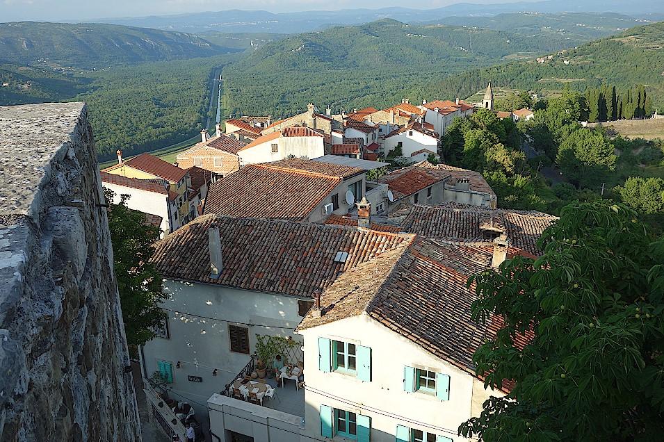 Motovun-Kroatien