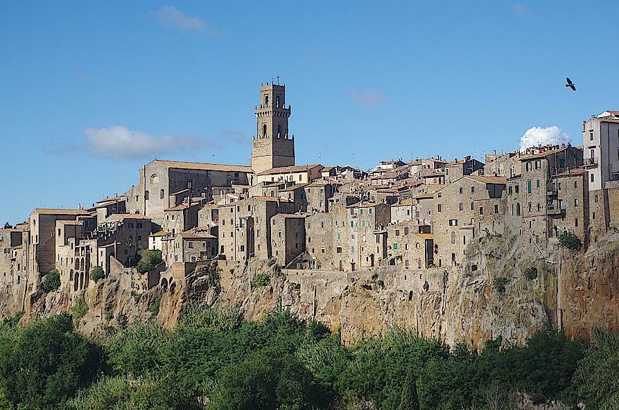 Pitigliano-in-der-Toskana