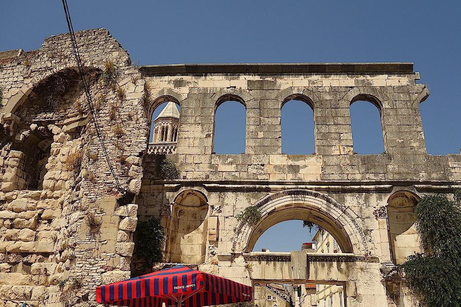 Stadtmauer-von-Split-Kroatien